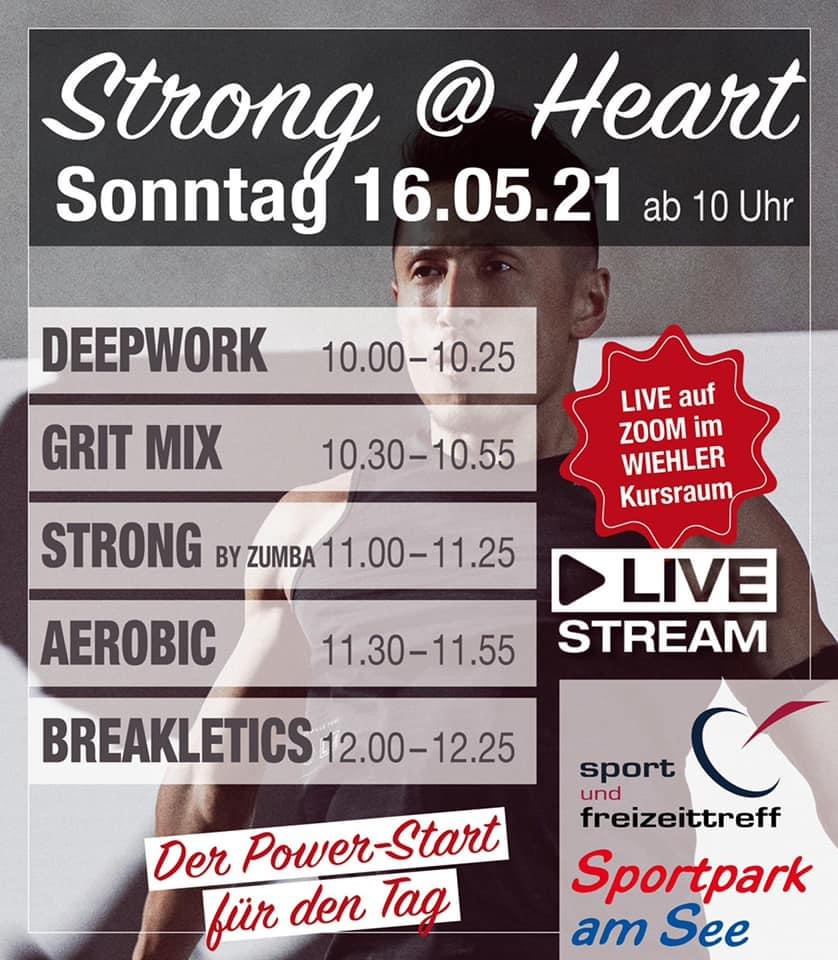 strong heart zoom event